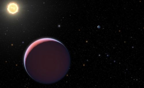 """Astronomers have discovered in the Kepler 51 system the most """"soft and fluffy"""" exoplanet"""