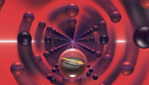 """The fastest rotating object will help scientists measure the forces of """"quantum friction"""" in a vacuum"""