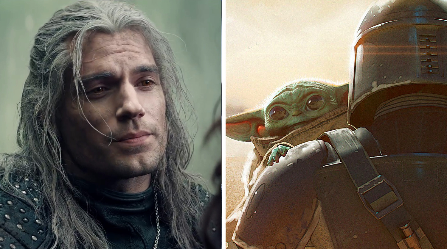 """""""The Witcher"""" ahead of """"The Mandalorian"""" and became the most popular TV series in US"""