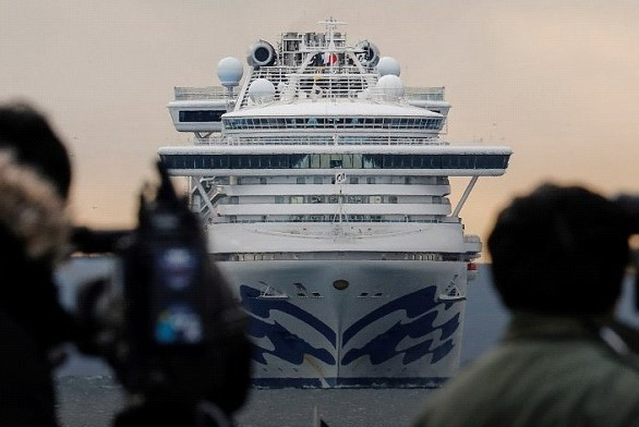 44 Americans from the Diamond Princess liner were found to have a coronavirus