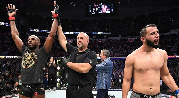 American Jones defeated Reyes in a fight for the UFC title