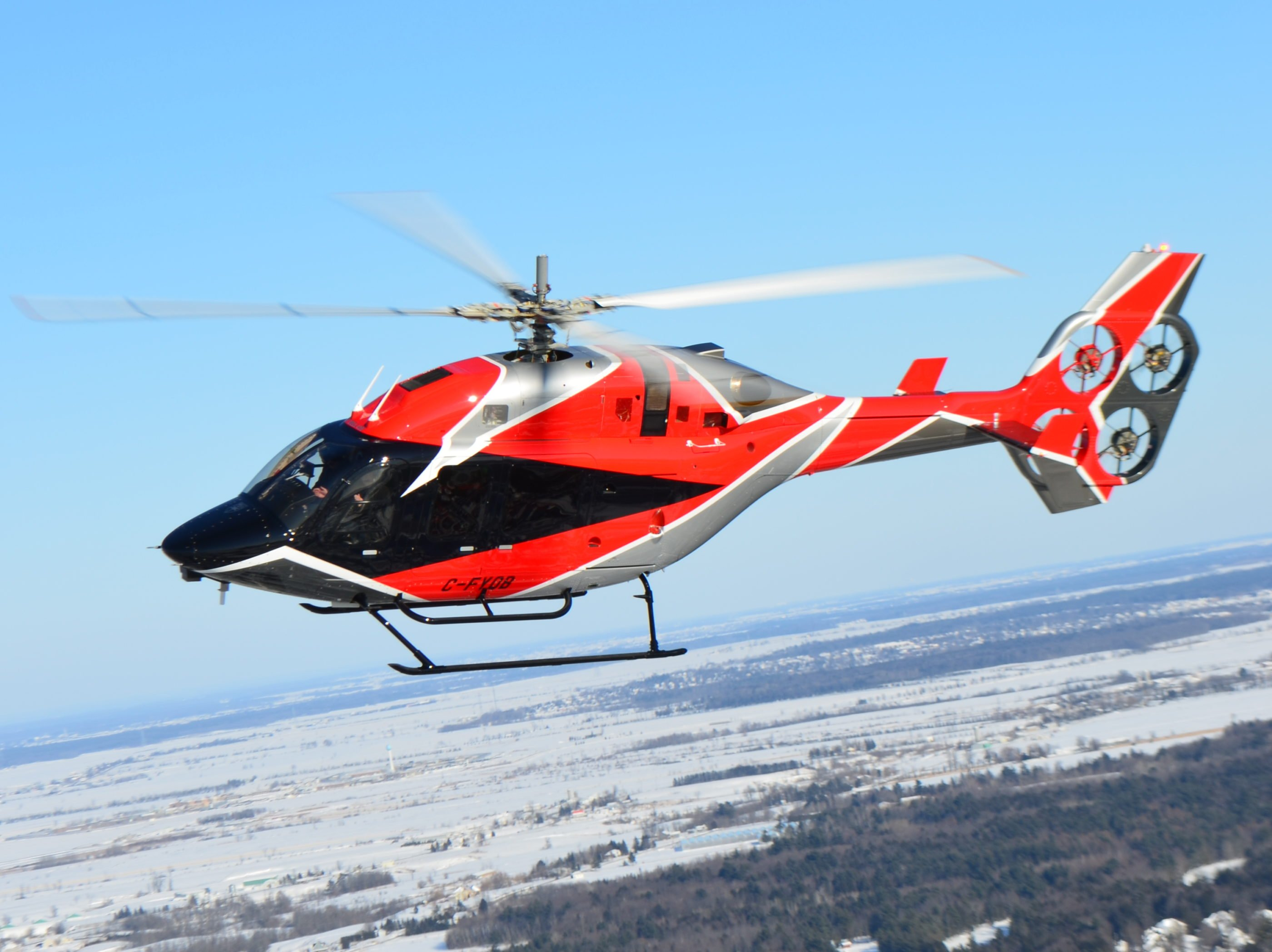 Bell has created an electric helicopter tail rotor system