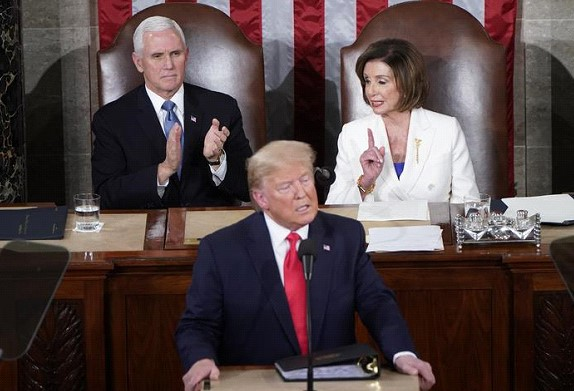 Donald Trump delivered his annual State of the Union address: the main thing
