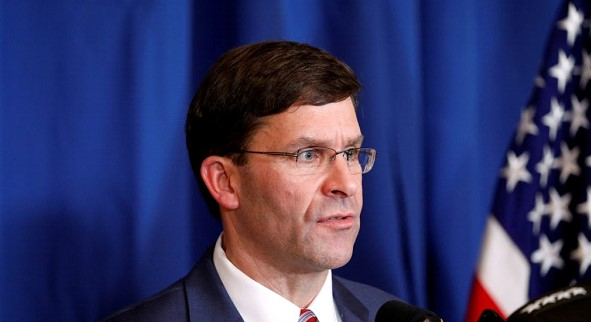 Esper will call on NATO allies to increase support for Iraq