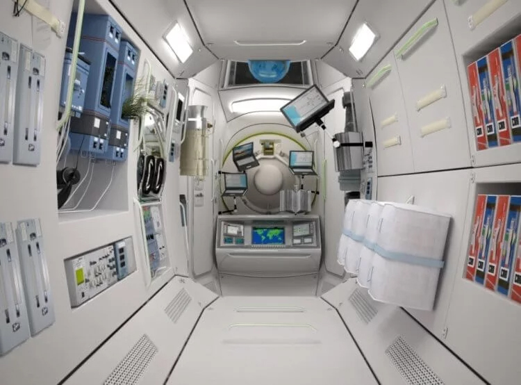 On the ISS they want to build a space hotel