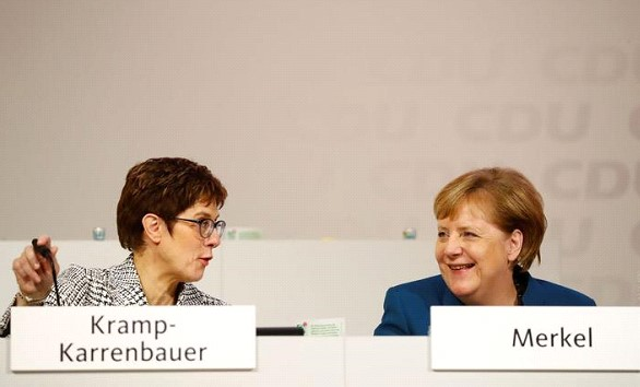 Merkel's successor refused to put forward her candidacy for the post of German Chancellor