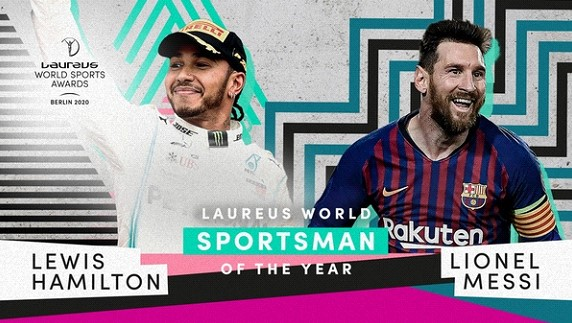 Messi and Hamilton received the Laureus award as the best athletes of the year