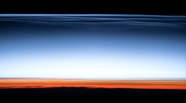 "NASA has published a ""postcard from the edge of space"""