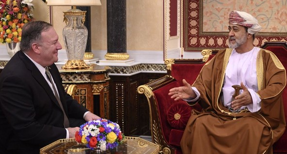 Pompeo meets with Oman's new leader