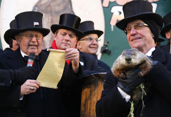The Groundhog Phil from Pennsylvania predicted an early spring