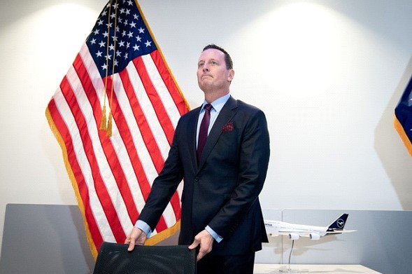 The US Ambassador to Germany said that he would not lead the national intelligence Service