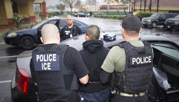 The US uses special agents against illegal immigrants
