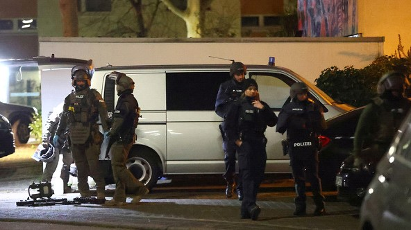 The suspect in the shooting in Germany found dead