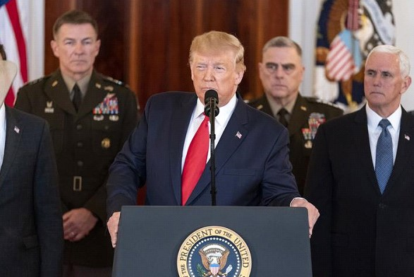 Trump: Vicious and evil people staged impeachment