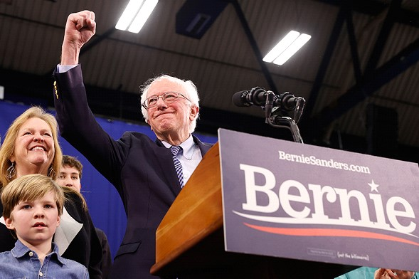 Trump considers Sanders the main contender for the Democratic presidential nomination