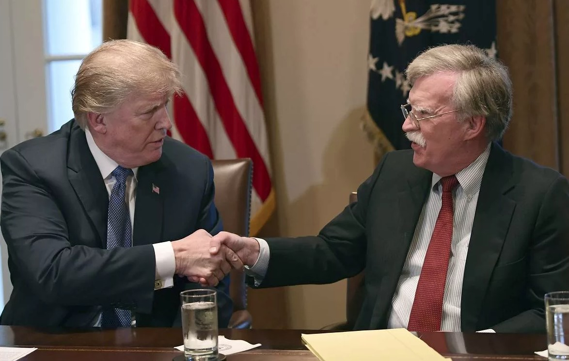 Trump intends to block the publication of Bolton's book