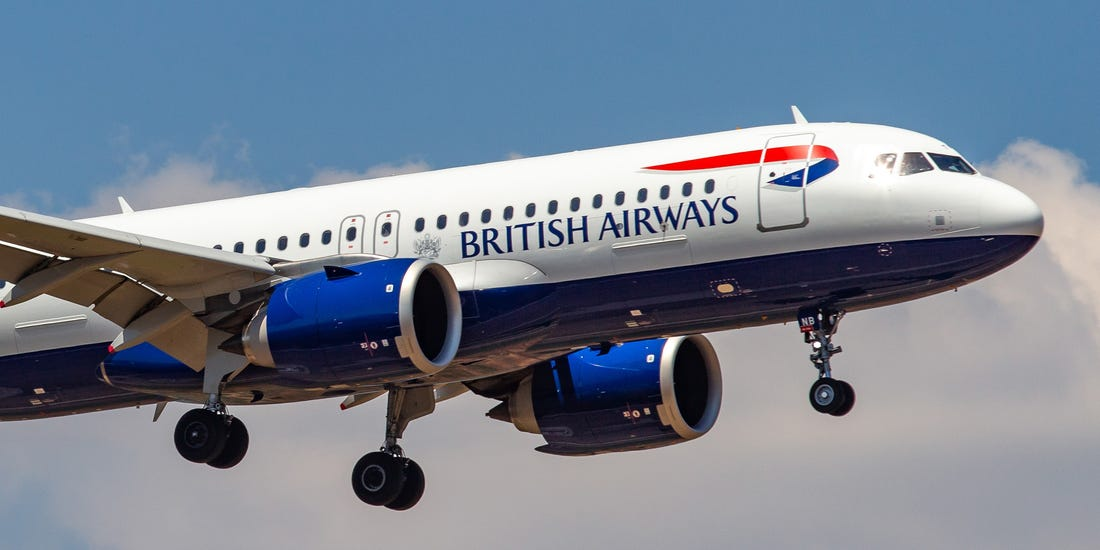 British Airways passenger aircraft accidentally accelerates to a record 1,327 km/h