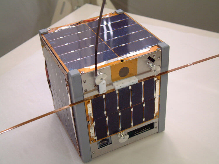 Some Cubesat orbital devices weigh from 100 grams to 1 kilogram