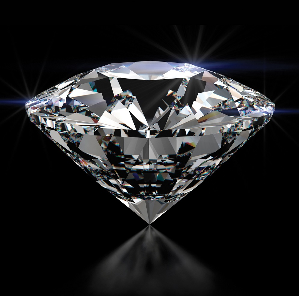 Scientists from Stanford University made a diamond from petroleum