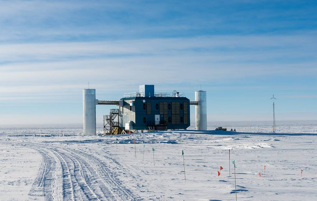 Scientists from the observatory IceCube found potential sources of neutrinos