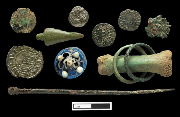 Other items found on Lindisfarne