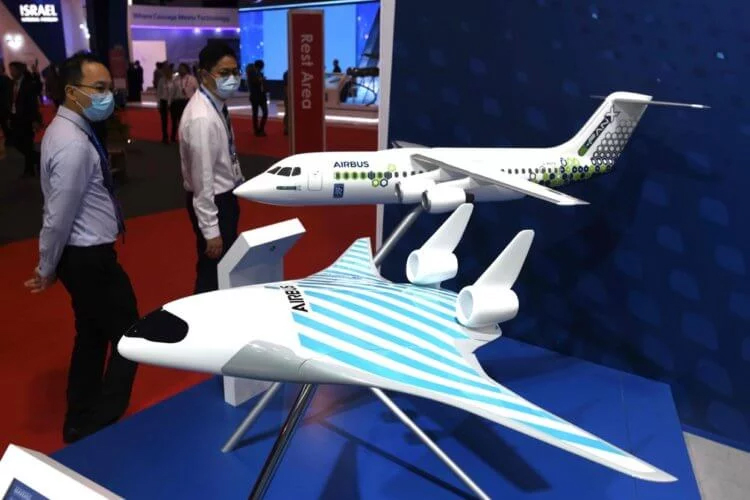 Airbus unveils passenger aircraft of the future, similar to a ship from Star Wars