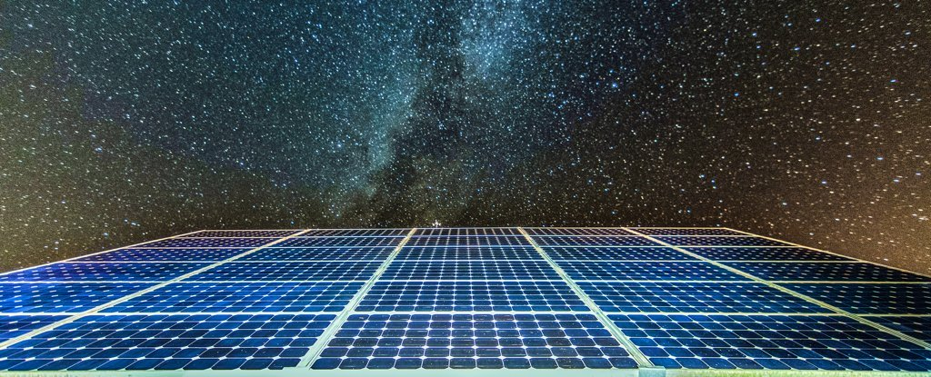 Can solar panels generate energy at night?