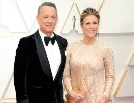 Actor Tom Hanks and his wife contracted the coronavirus