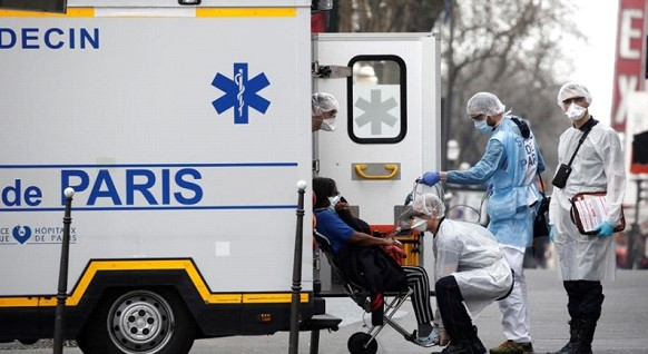 In France, the number of coronavirus victims reached 1,696