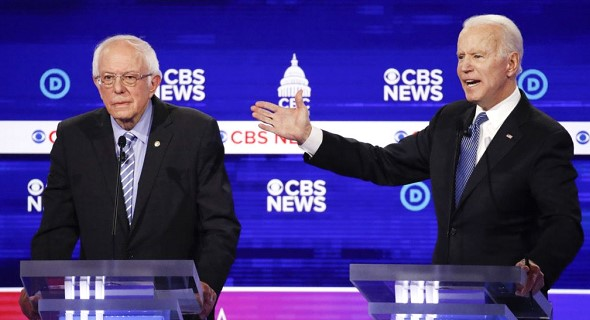 In Michigan, Biden and Sanders will face off on Tuesday