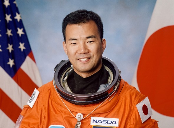 Japanese Noguchi will be the first foreigner to fly to the ISS on the Musk ship