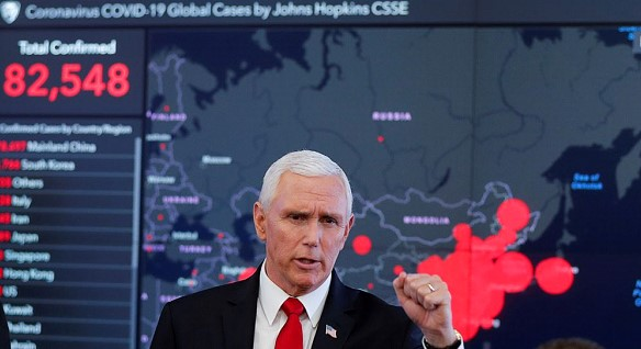 Mike Pence: the US economy is still strong despite the pandemic