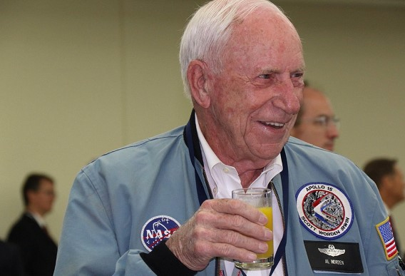 NASA astronaut Alfred Worden has died
