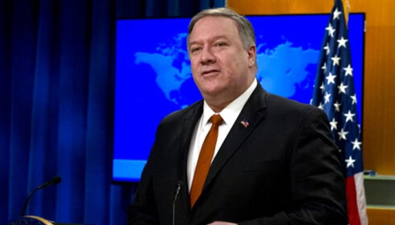 Pompeo presented the State Department's annual report on the human rights situation