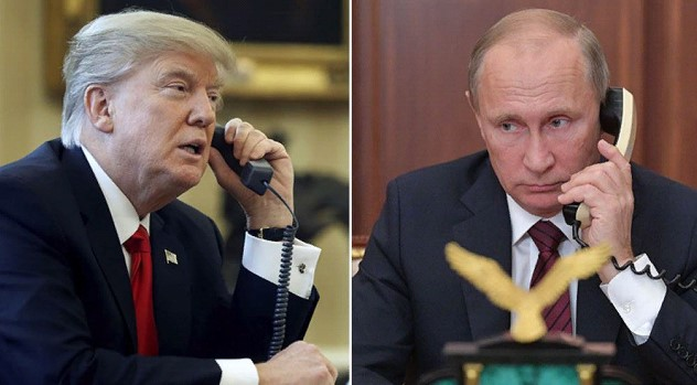 Putin and Trump discussed COVID over the phone