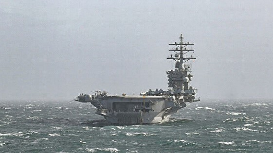 The US Navy canceled all calls of ships to ports because of the coronavirus