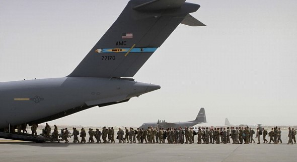 The US has begun withdrawing troops from Afghanistan