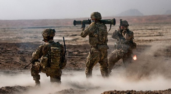 The US launched its first attack on the Taliban after the signing of the peace agreement
