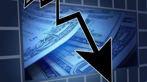 The US stock exchange closed with the largest collapse since 1987