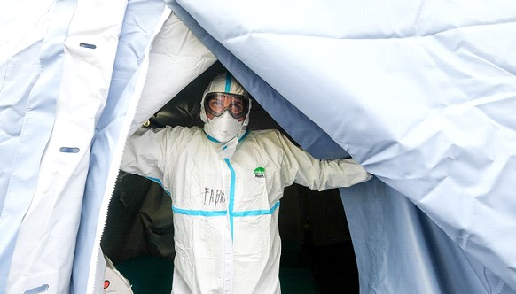 The number of coronavirus victims in Italy increased by 250 people in a day