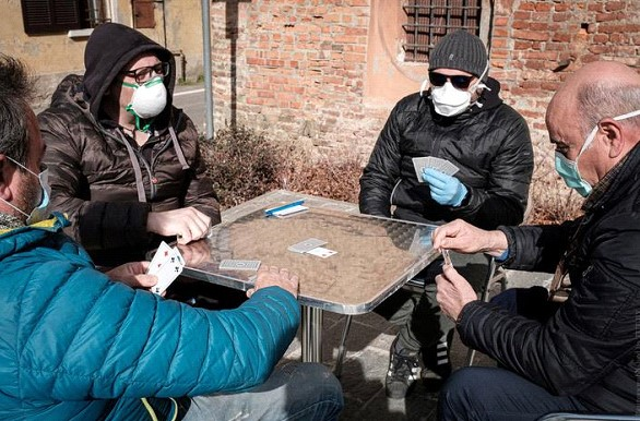 The number of deaths due to coronavirus in Italy increased by 133 per day