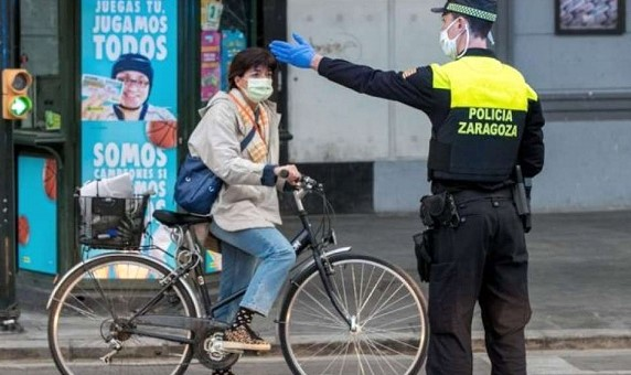 The quarantine was tightened in Spain