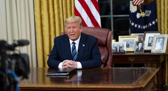 Trump: the US closes entry from Europe for a month due to coronavirus