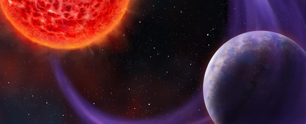 Astronomers first discovered the planet using radio waves