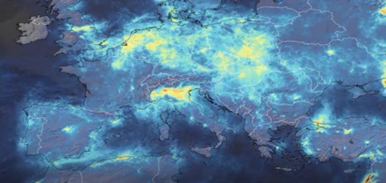 In Italy, carbon emissions have fallen sharply. It is associated with coronavirus