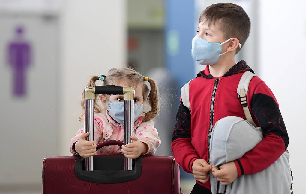 Why does the virus not take children?