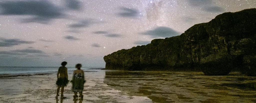Niue Island became the first country in the dark sky. At night there does not include lighting