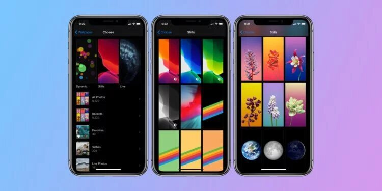 Previously, iOS wallpapers were piled up, and in iOS 14 they will begin to be grouped