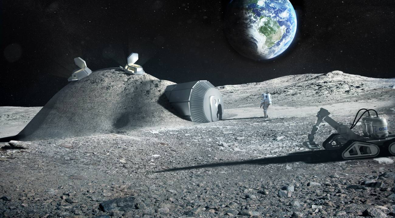Urine of astronauts will simplify the construction of the lunar base