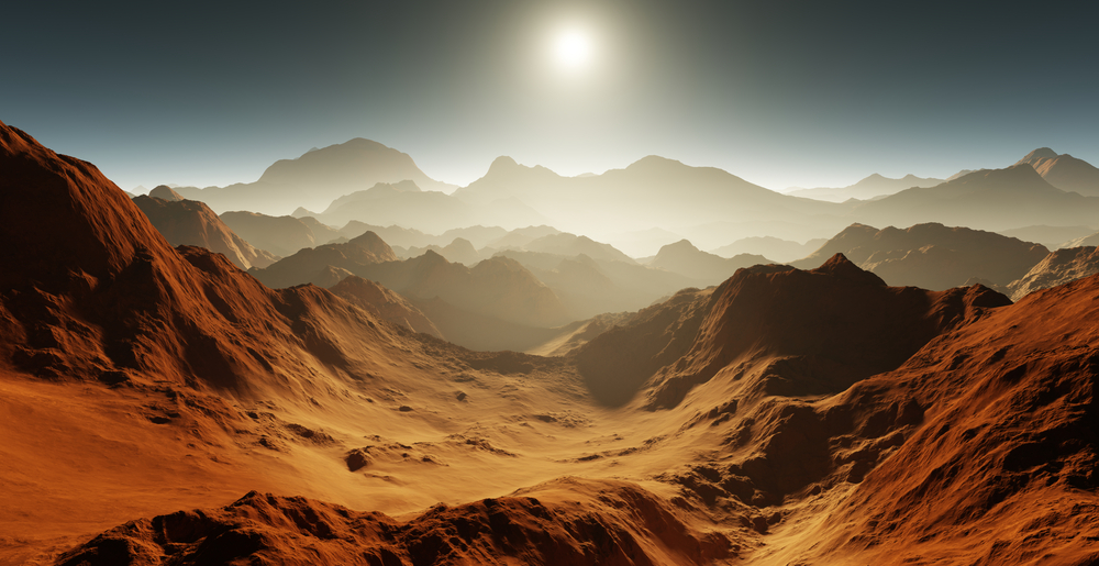 Conditions on early Mars were suitable for the appearance of RNA